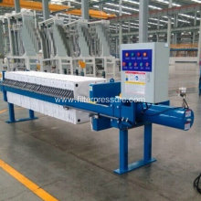 wastewater dewatering hydraulic chamber filter press